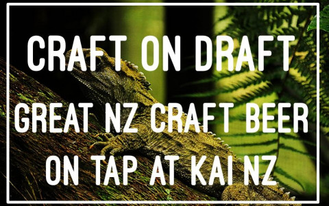 NZ Hand Crafted Beer on Draught