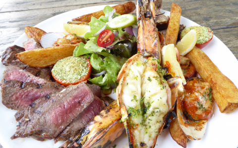 Kai Showcase Dish – The Surf 'N' Turf Sharing Platter